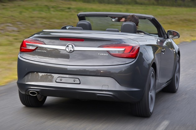 Holden Cascada Driving Rear