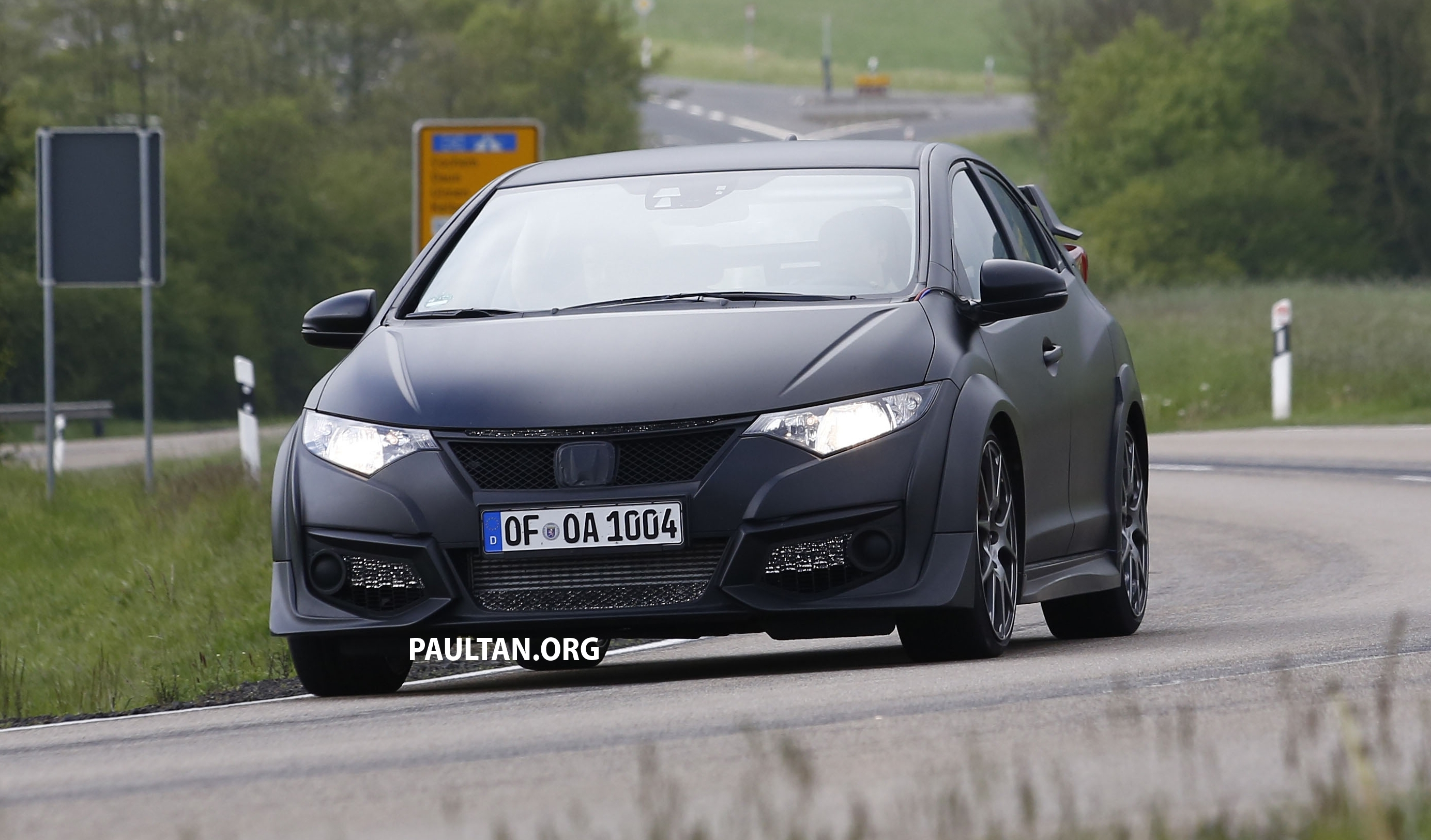 Spyshots 2015 Honda Civic Type R Drops The Camo Paul Tan