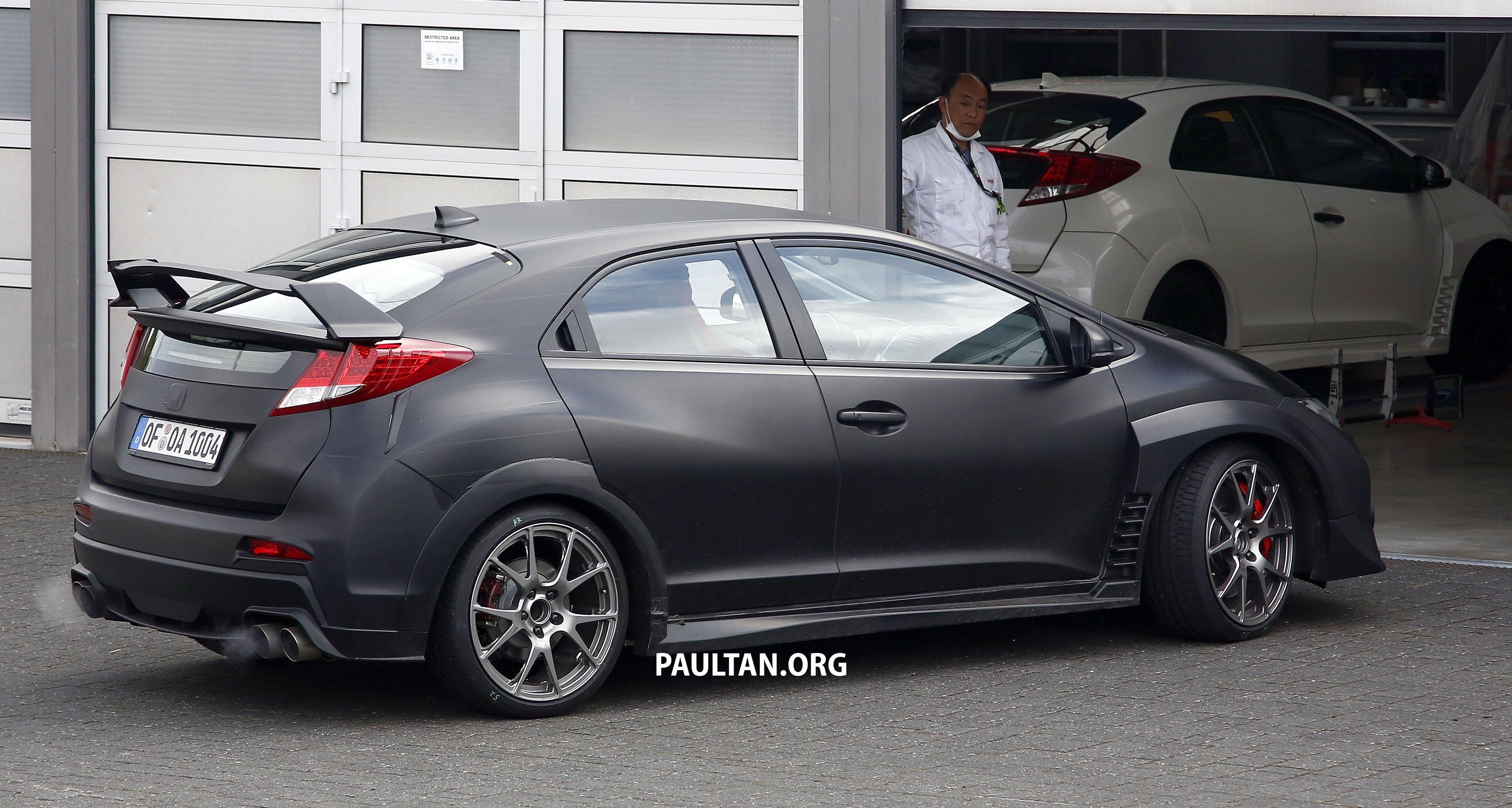 Spyshots 2015 Honda Civic Type R Drops The Camo