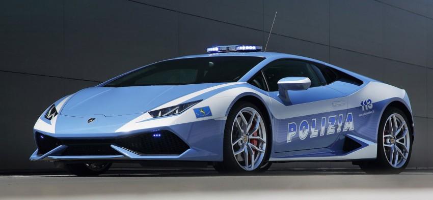 Lamborghini Huracan LP610-4 Polizia in hot pursuit Image #249446