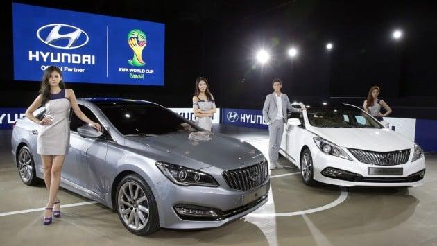 Hyundai Motor Strengthens Large Sedan Line-ups at the 2014 Busan International Motor Show 1