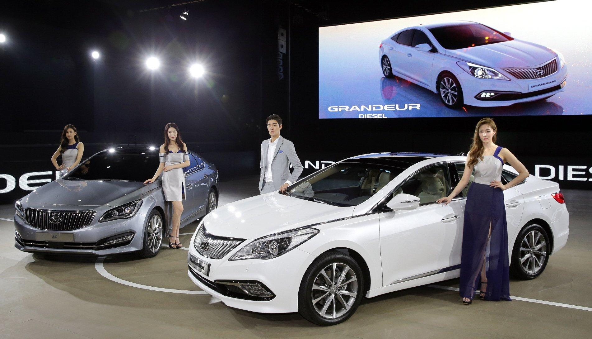 Local Market Tool >> Hyundai AG and Grandeur facelift unveiled in Korea