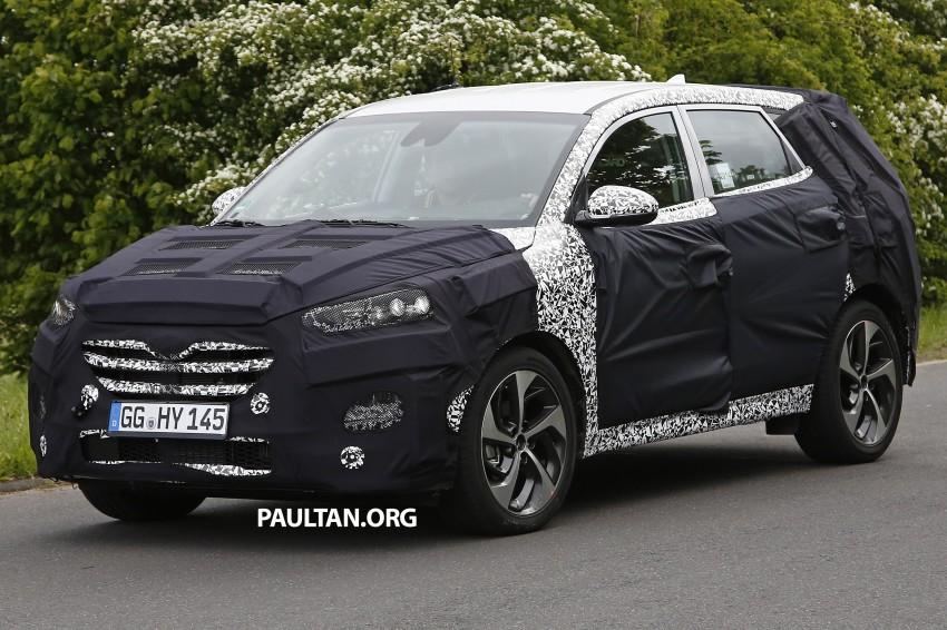 SPYSHOTS: Hyundai Tucson – third-gen looks good Image #247710