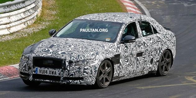 Jaguar XE Ring Spyshots-03