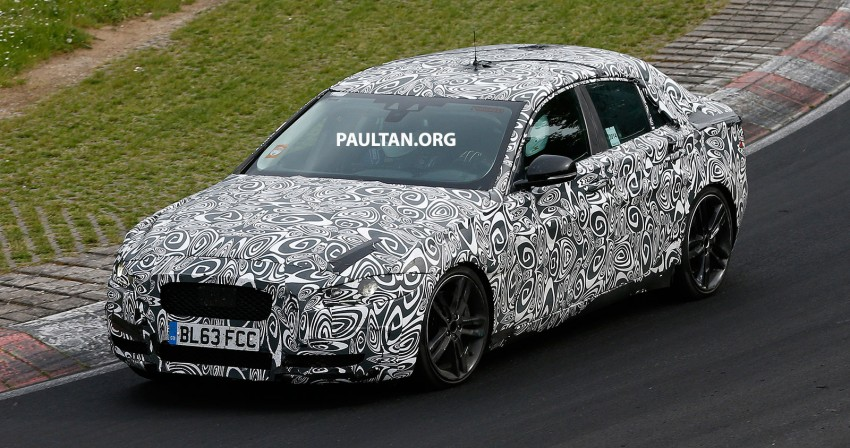 SPYSHOTS: Jaguar XE – 3 Series rival at Nurburgring Image #249641