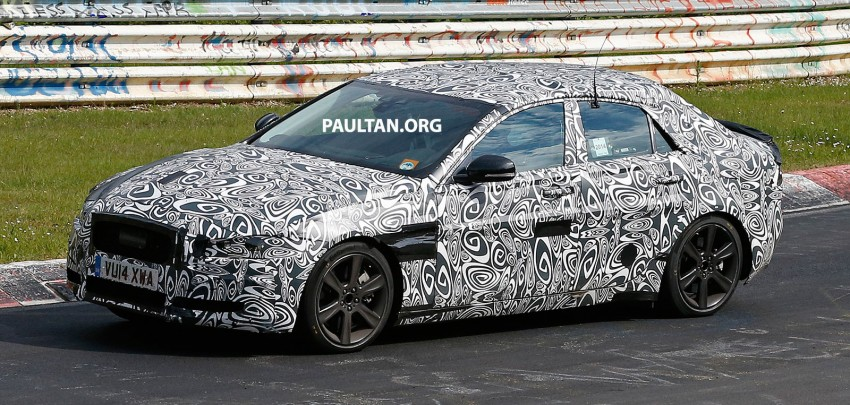SPYSHOTS: Jaguar XE – 3 Series rival at Nurburgring Image #249642