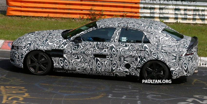 SPYSHOTS: Jaguar XE – 3 Series rival at Nurburgring Image #249644