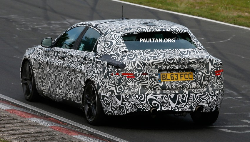 SPYSHOTS: Jaguar XE – 3 Series rival at Nurburgring Image #249650