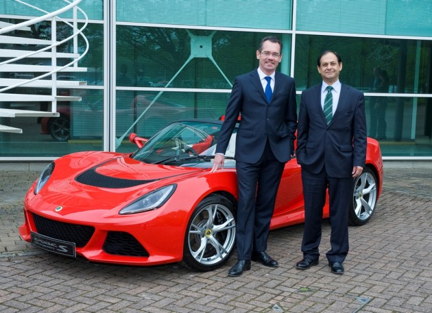 CEO Jean-Marc Gales (left) with Aslam Farikullah