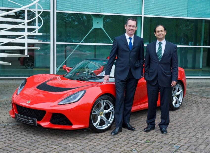Former PSA head Jean-Marc Gales now Lotus CEO Image #245546