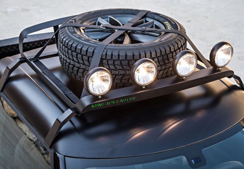 MINI Paceman Adventure Concept – fancy a pick-up? Image #245891