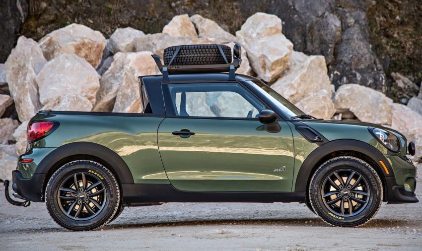 MINI Paceman Adventure Concept – fancy a pick-up? Image #245895