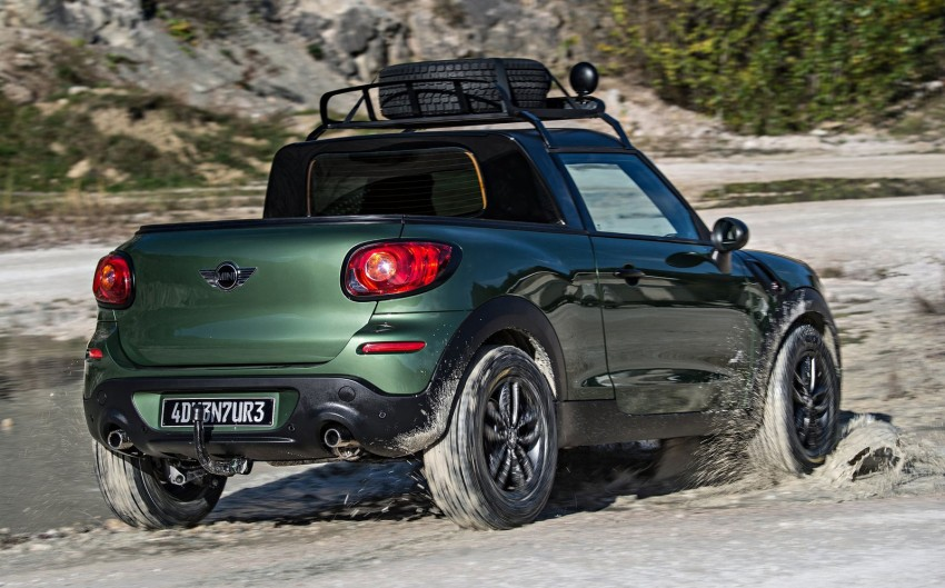 MINI Paceman Adventure Concept – fancy a pick-up? Image #245896