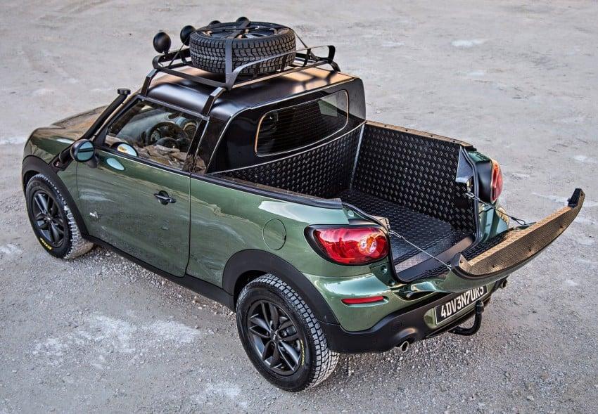 MINI Paceman Adventure Concept – fancy a pick-up? Image #245897