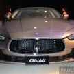 Maserati Ghibli launch- 1