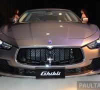 Maserati Ghibli launch- 1