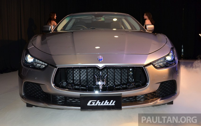 Maserati Ghibli launched in Malaysia, from RM538,800 Image #247828