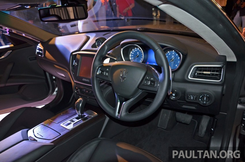 Maserati Ghibli launched in Malaysia, from RM538,800 Image #247851