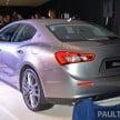 Maserati Ghibli launch- 5