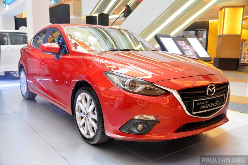 Mazda 3 – now with leather seats for no extra charge Image #248748