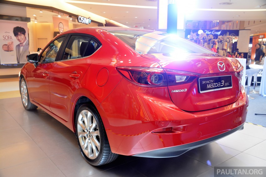Mazda 3 – now with leather seats for no extra charge Image #248749