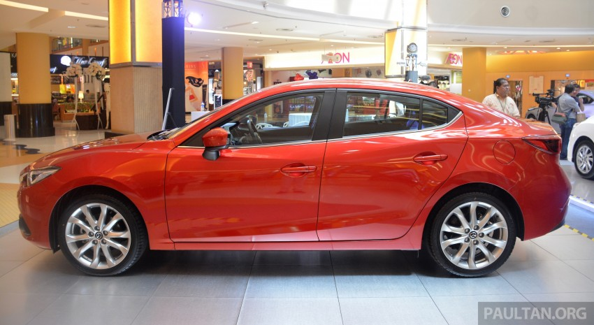 Mazda 3 – now with leather seats for no extra charge Image #248750