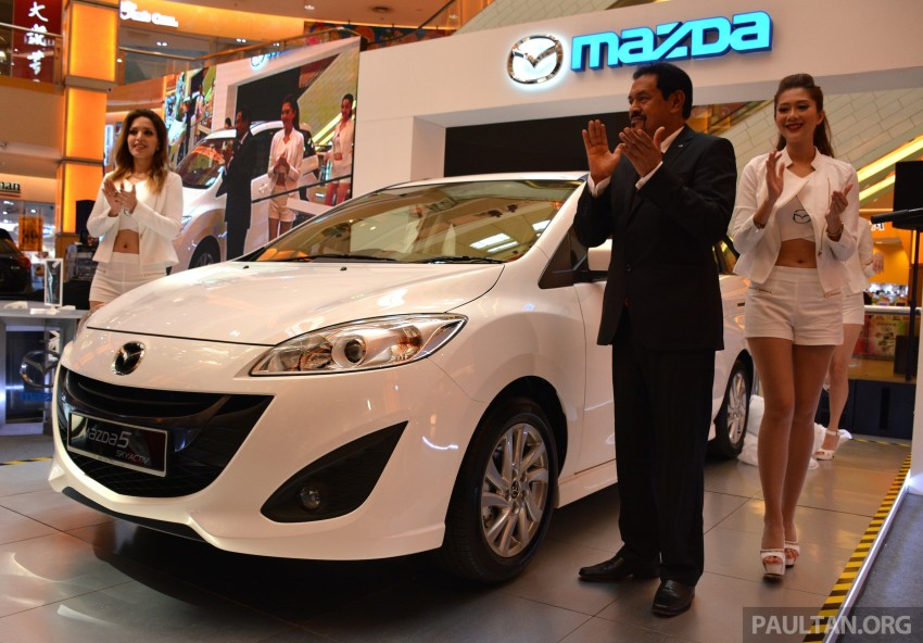 Mazda 5 SkyActiv launched in Malaysia – RM157,279 Image #248616