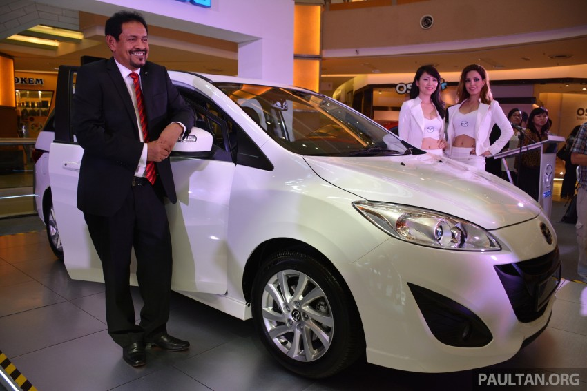 Mazda 5 SkyActiv launched in Malaysia – RM157,279 Image #248618