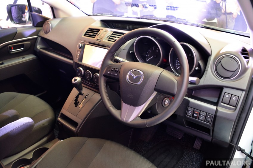 Mazda 5 SkyActiv launched in Malaysia – RM157,279 Image #248621