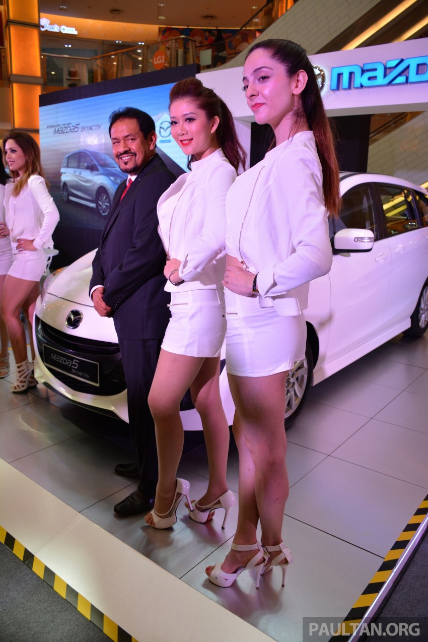Mazda 5 SkyActiv launched in Malaysia – RM157,279 Image #248625