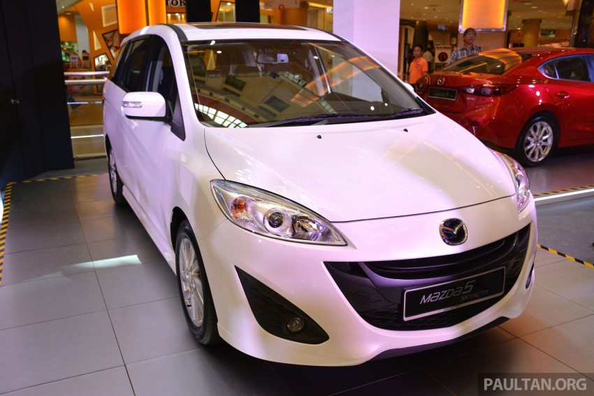 Mazda 5 SkyActiv launched in Malaysia – RM157,279 Image #248721