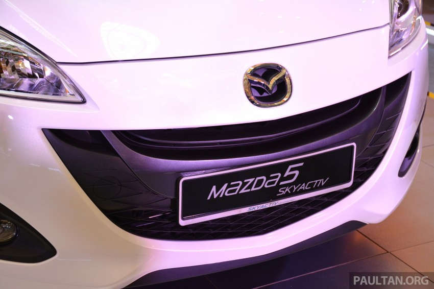 Mazda 5 SkyActiv launched in Malaysia – RM157,279 Image #248722