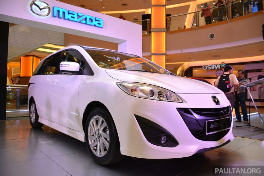 Mazda 5 SkyActiv launched in Malaysia – RM157,279 Image #248723