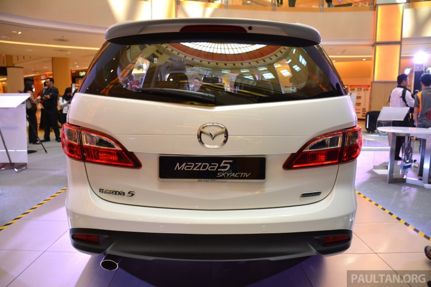 Mazda 5 SkyActiv launched in Malaysia – RM157,279 Image #248724