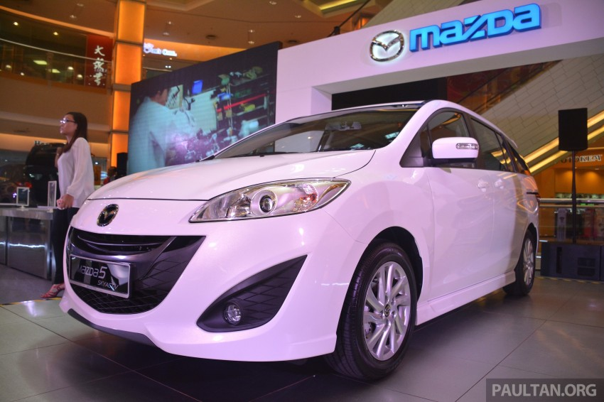 Mazda 5 SkyActiv launched in Malaysia – RM157,279 Image #248742