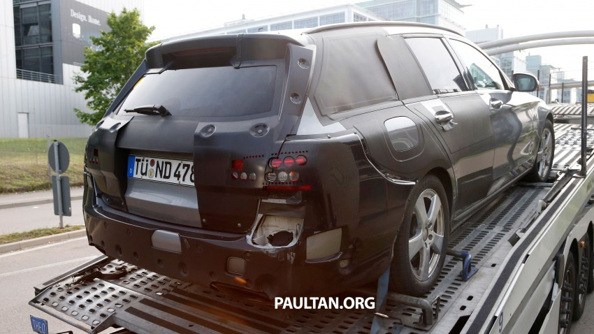 SPYSHOTS: Mercedes-Benz C-Class plug-in hybrid Image #246564