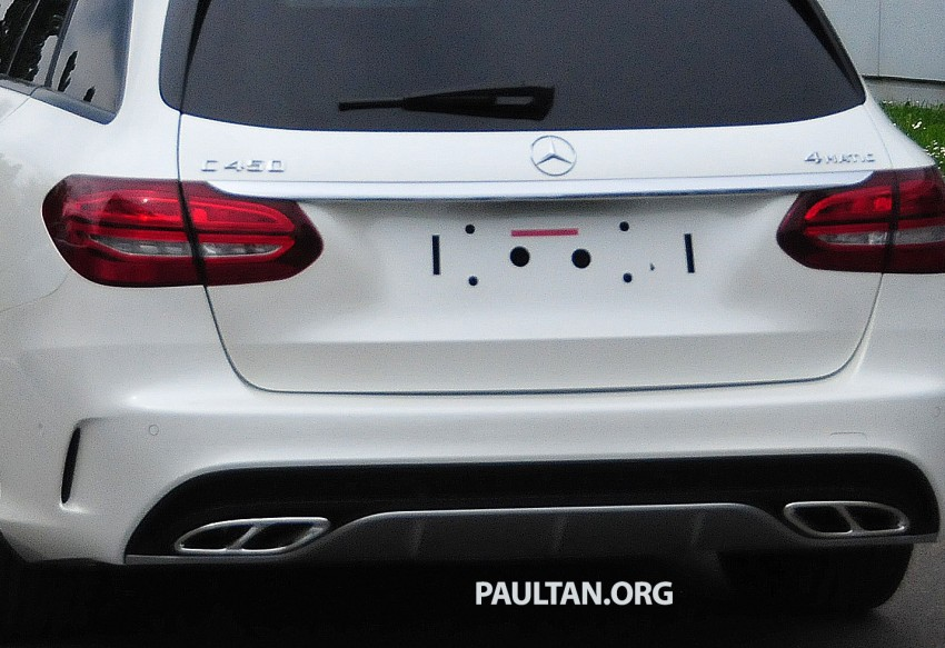 Mercedes-Benz C 450 AMG Sport sighted in the wild! Image #250008