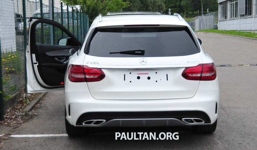 Mercedes-Benz C 450 AMG Sport sighted in the wild! Image #250012