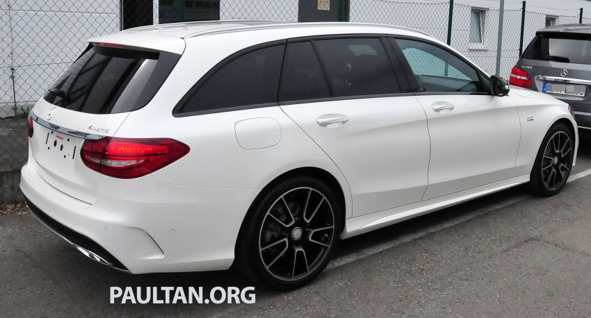 Mercedes-Benz C 450 AMG Sport sighted in the wild! Image #250011