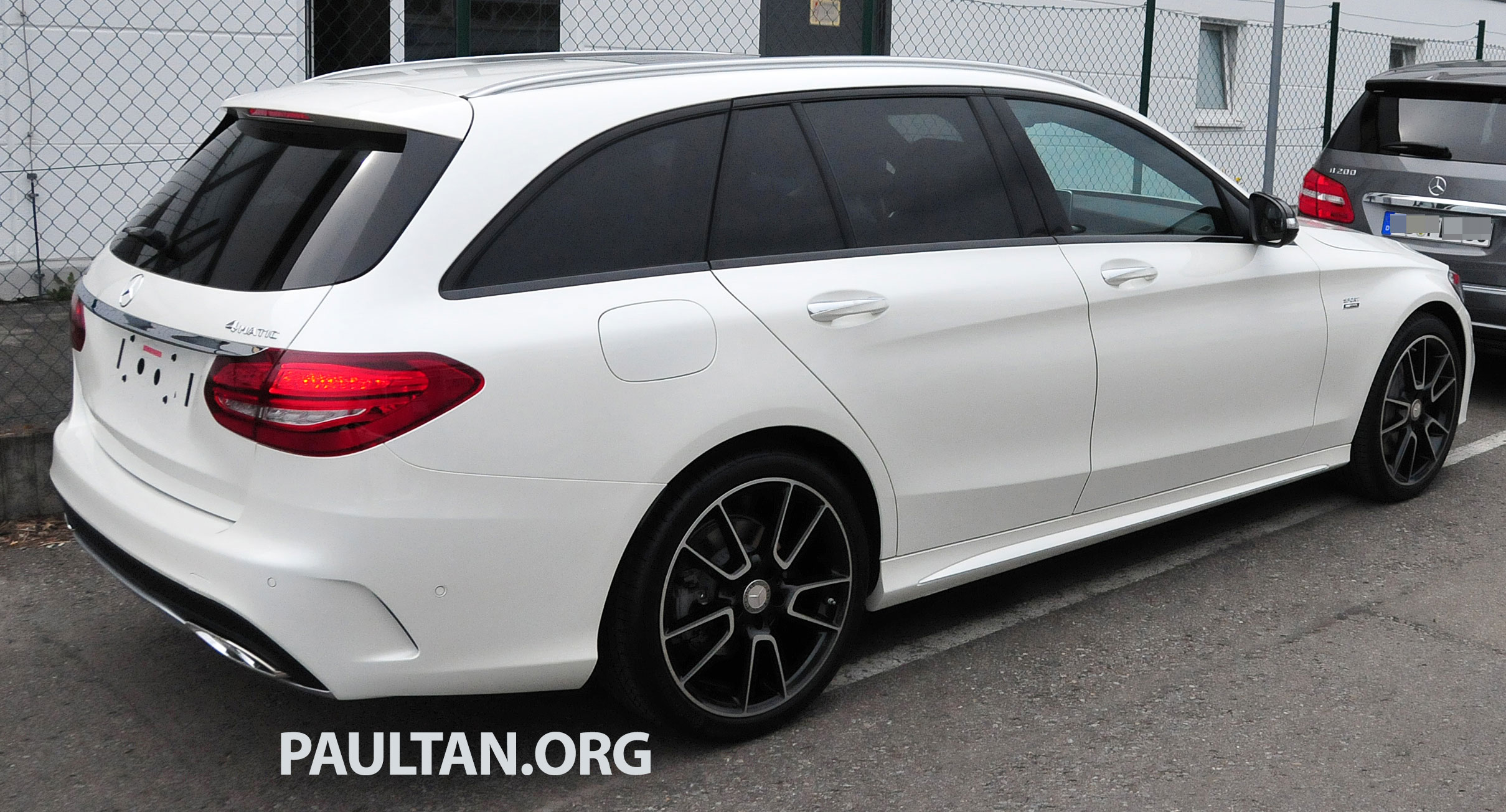 mercedes benz c 450 amg sport sighted in the wild image. Black Bedroom Furniture Sets. Home Design Ideas