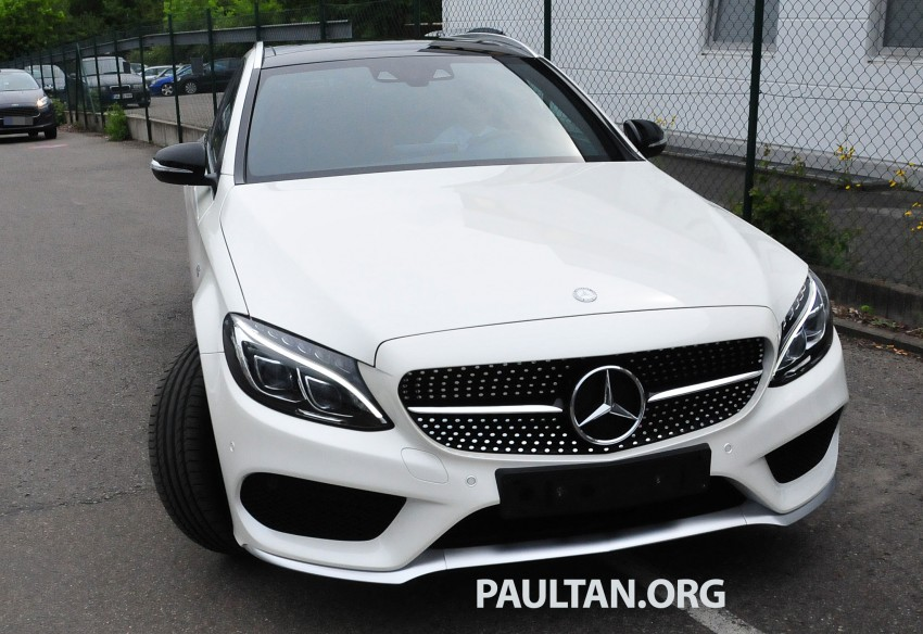 Mercedes-Benz C 450 AMG Sport sighted in the wild! Image #250005