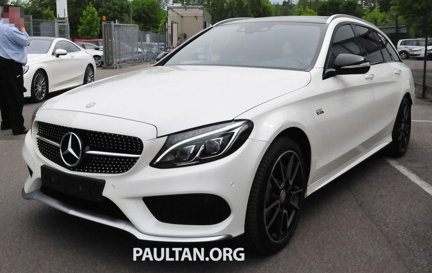 Mercedes-Benz C 450 AMG Sport sighted in the wild! Image #250004