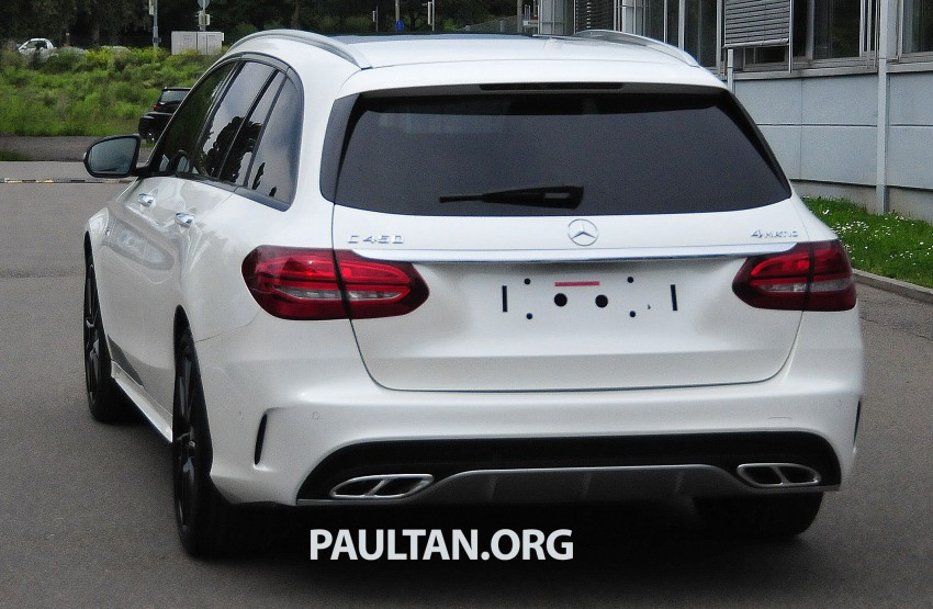 Mercedes-Benz C 450 AMG Sport sighted in the wild! Image #250006