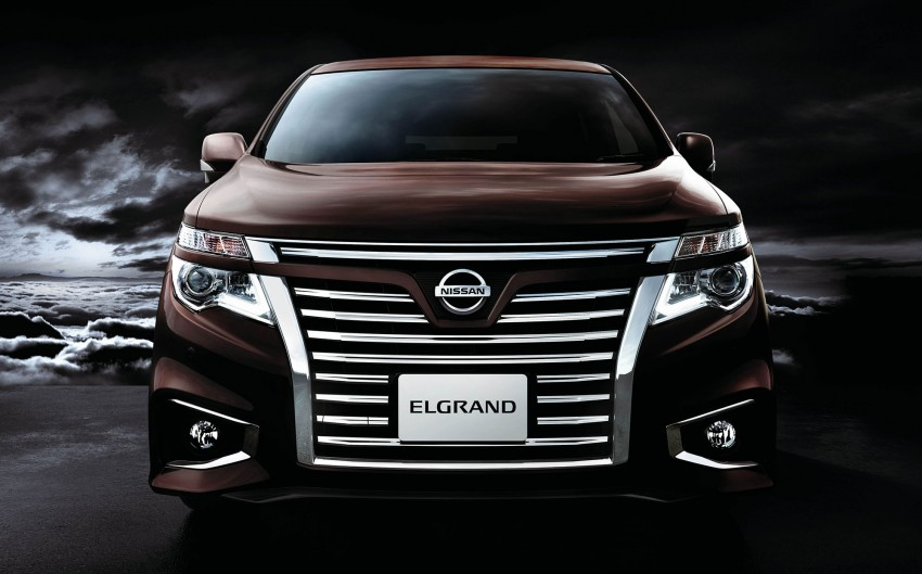 Nissan Elgrand Facelift MPV now in Malaysia, RM388k Image #248676