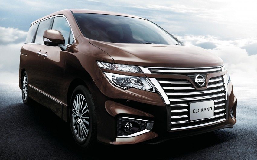 Nissan Elgrand Facelift MPV now in Malaysia, RM388k Image #248677