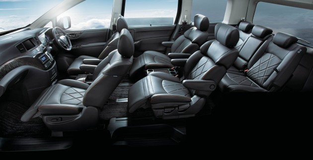 Nissan Elgrand Facelift Mpv Now In Malaysia Rm388k