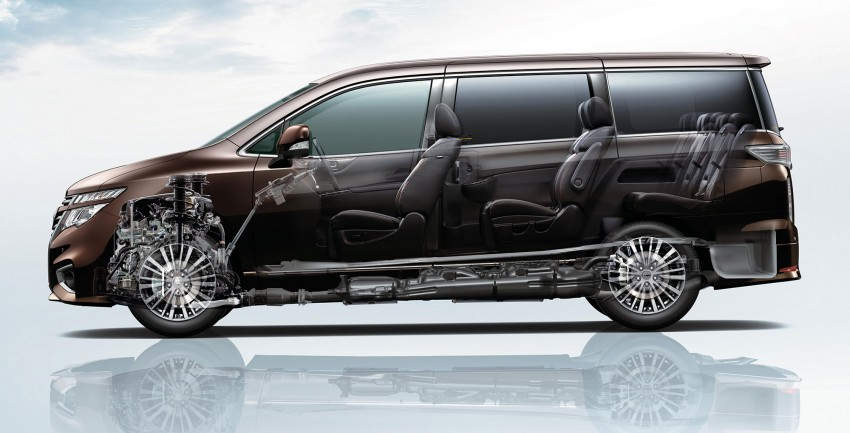 Nissan Elgrand Facelift MPV now in Malaysia, RM388k Image #248680