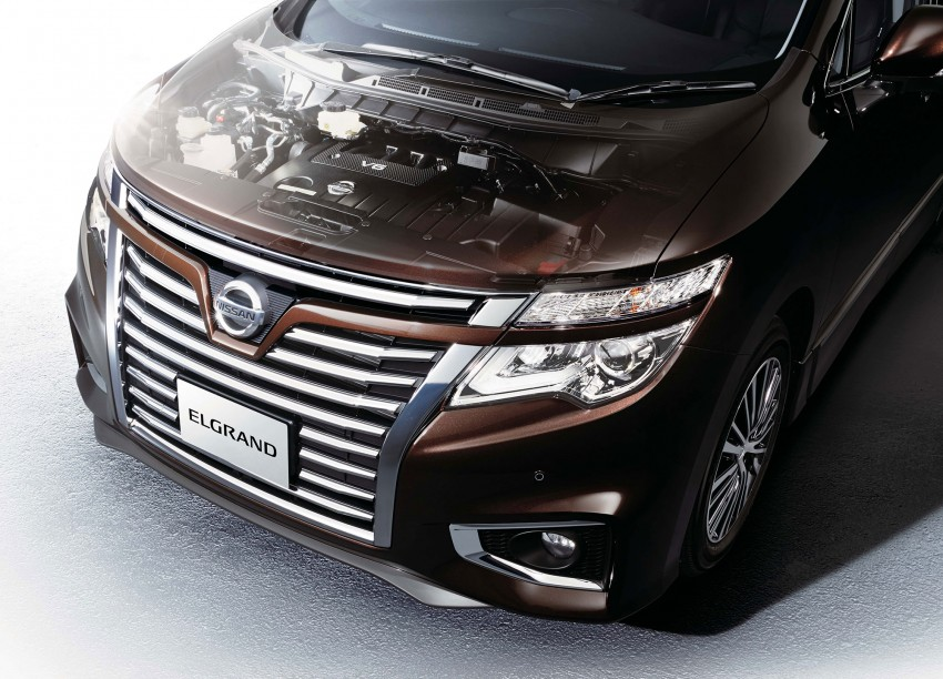 Nissan Elgrand Facelift MPV now in Malaysia, RM388k Image #248682