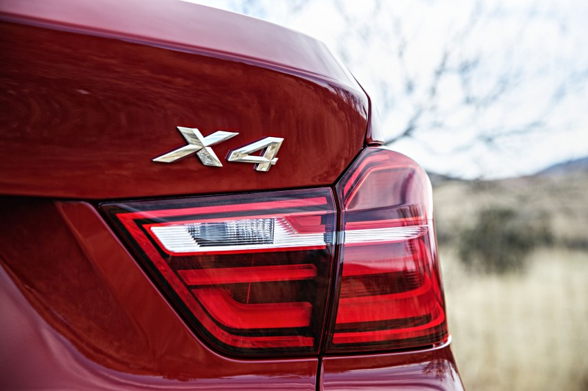 DRIVEN: F26 BMW X4 – the X3 redrawn as a 'coupe' Image #250196