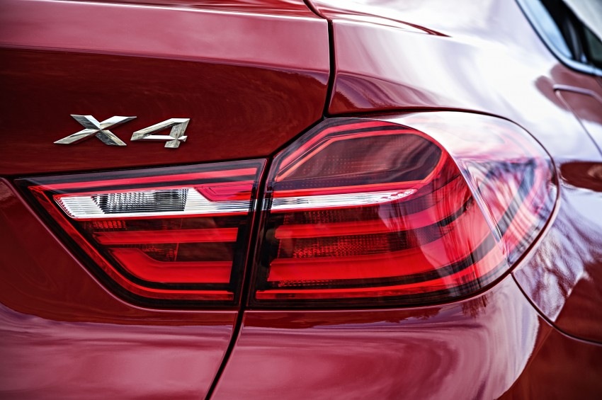 DRIVEN: F26 BMW X4 – the X3 redrawn as a 'coupe' Image #250179